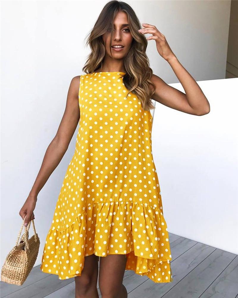 Ruffled Summer Dress for Women