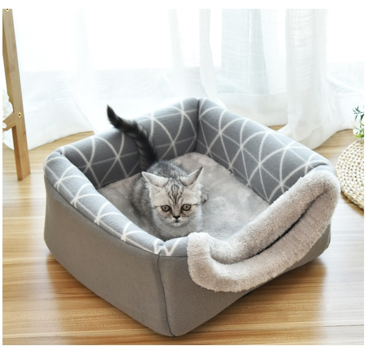 Collapsible Cat House and Bed